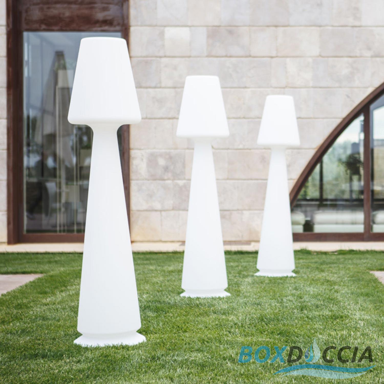 Salon De Jardin Chloé détails sur lampadaire de jardin en rÈsine chloe led multicolor