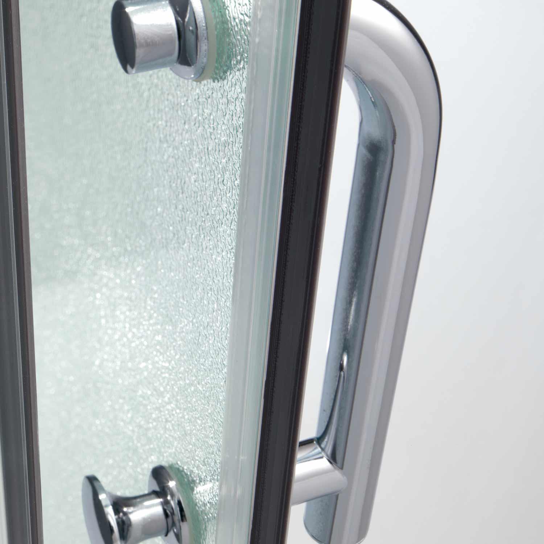 cabine paroi douche 90x70 h200 cm verre opaque angulaire. Black Bedroom Furniture Sets. Home Design Ideas