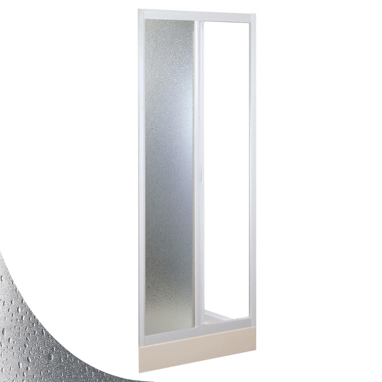 Mercurio con Apertura Lateral Forte Mampara de Ducha 70x100 CM de Acr/ílico Mod