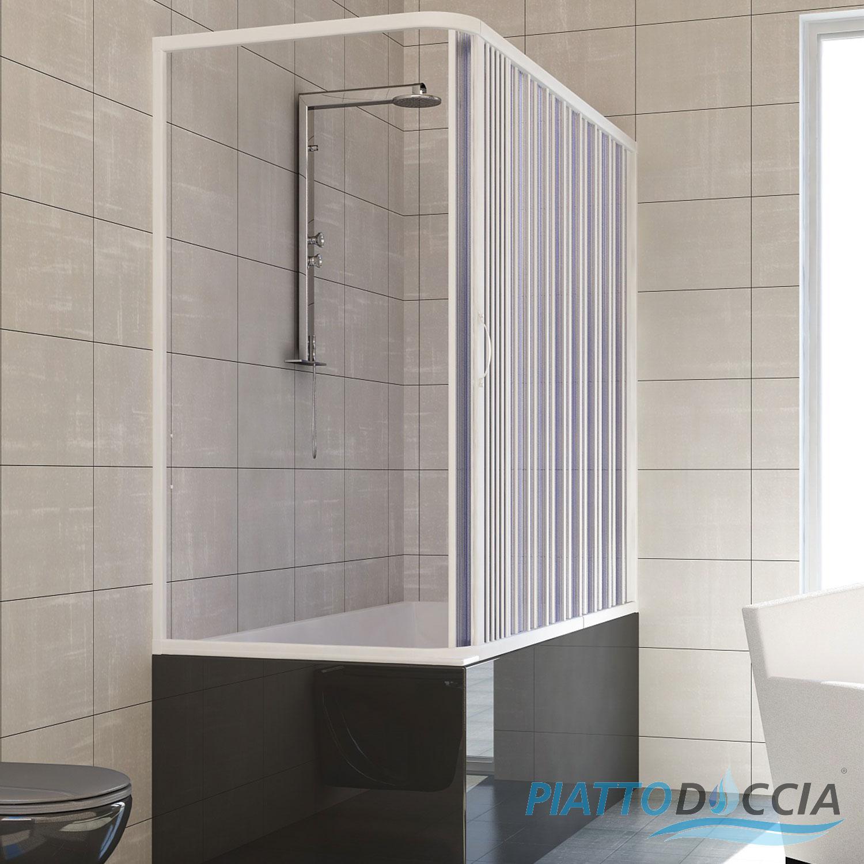 cabine de douche pare baignoire paroi pliante pvc 14. Black Bedroom Furniture Sets. Home Design Ideas