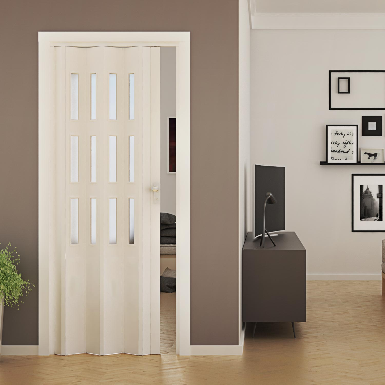 porte accord on int rieur pvc avec verre placard 88 5x214. Black Bedroom Furniture Sets. Home Design Ideas