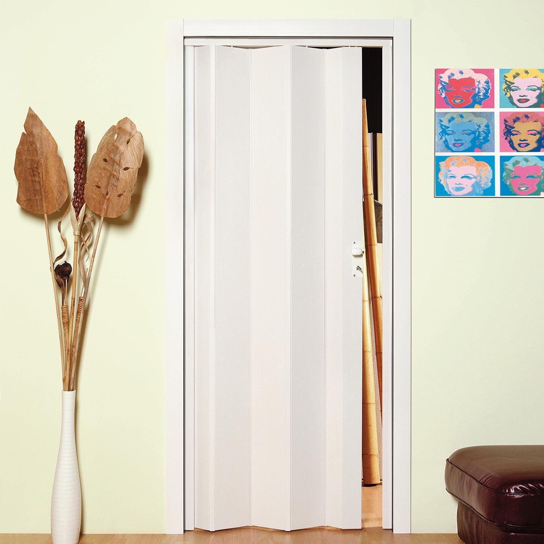 Porte porta a soffietto scorrevole in pvc da interno - Porta a soffietto per doccia ...