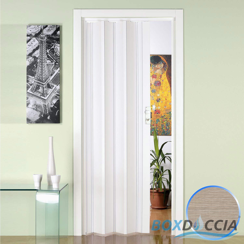 porte porta a soffietto scorrevole in pvc da interno 885x214 cm