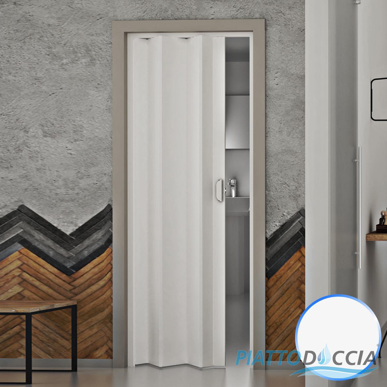 Porte porta a soffietto 83x214 cm scorrevole in pvc da interno colori a scelta ebay - Colori da interno ...