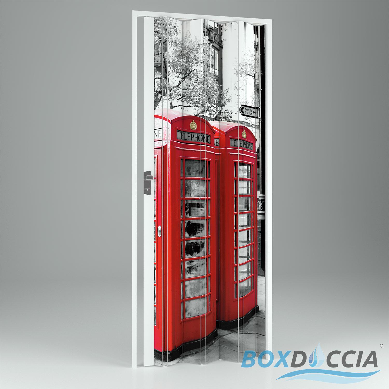 Porte porta a soffietto scorrevole in pvc da interno - Porta a soffietto prezzo ...