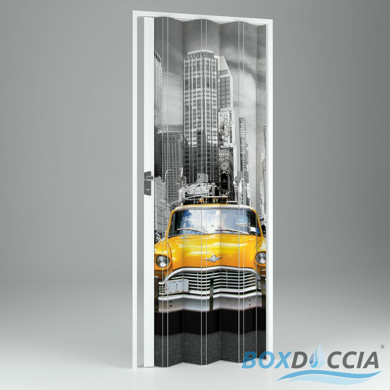 porte porta a soffietto scorrevole in pvc da interno riducibile bar
