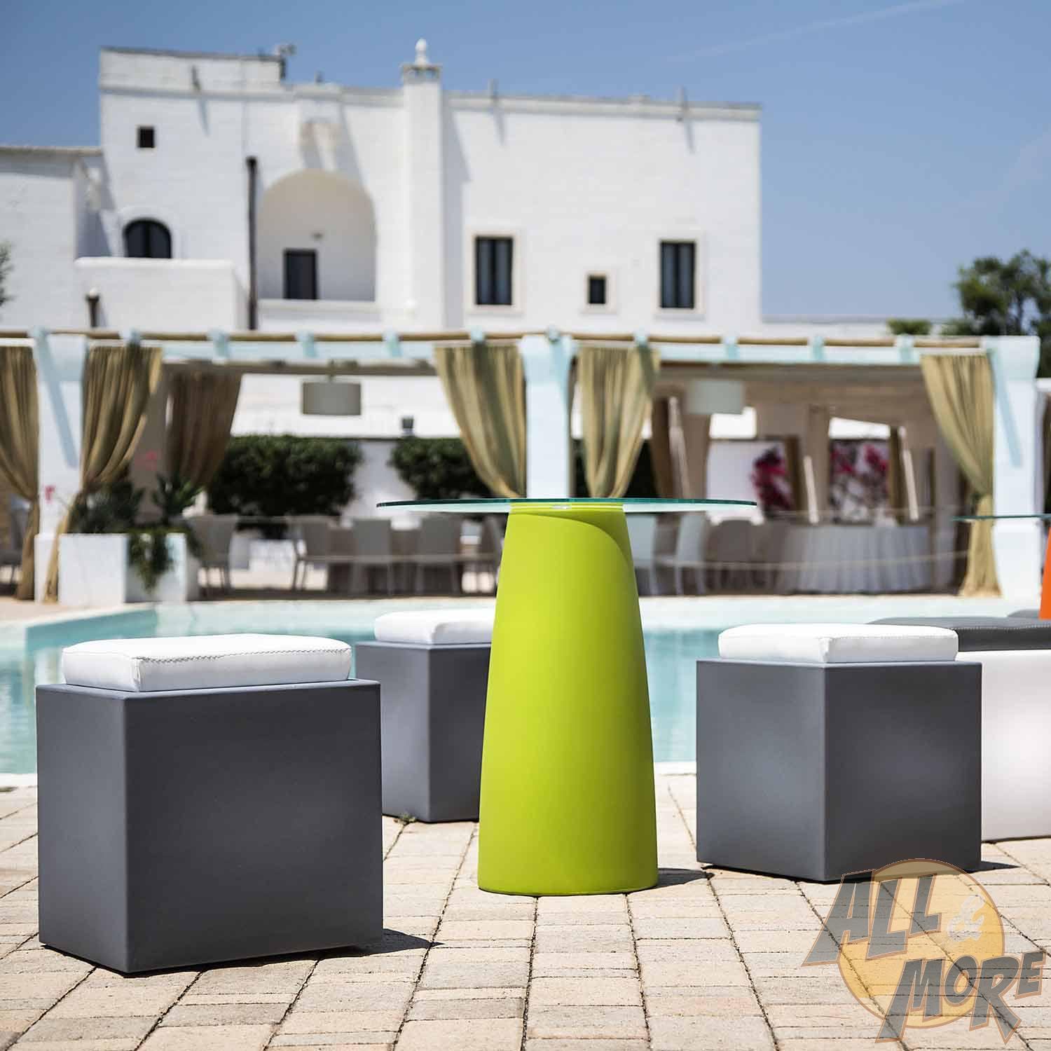 outdoor pouf lounge sitzhocker aussen garten terrasse sitz ebay. Black Bedroom Furniture Sets. Home Design Ideas