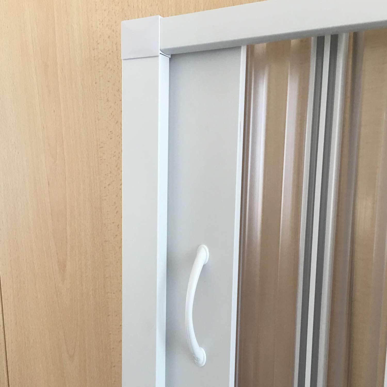 Quadrant Shower Cubicle Enclosure Pvc Screen Folding Door