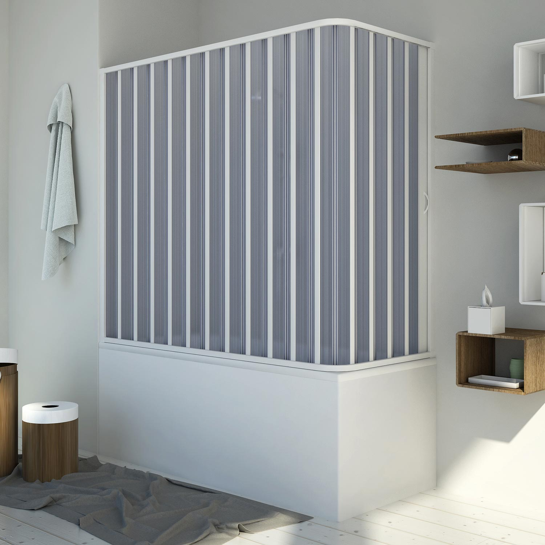 Piatto Doccia .it Box doccia sopravasca in PVC mod. Santorini con ...