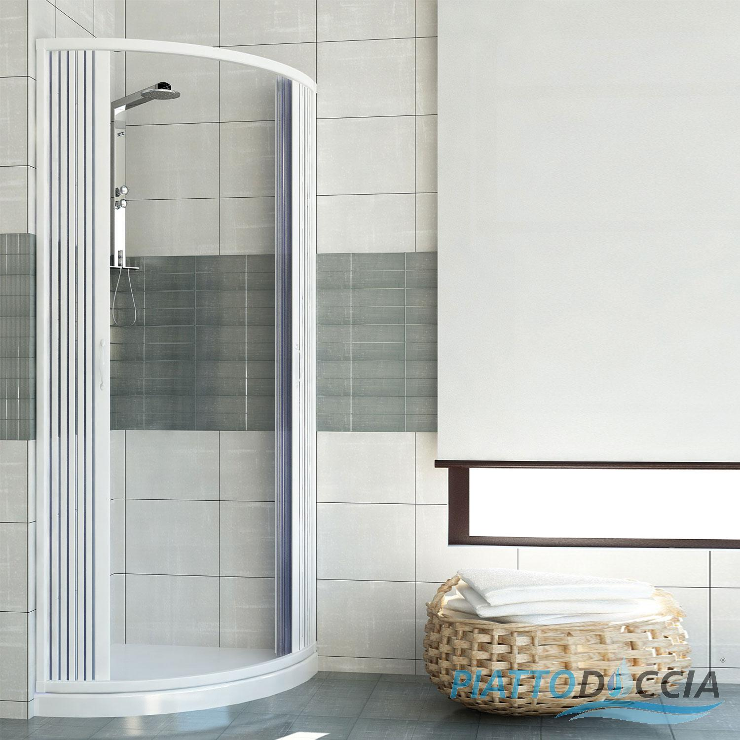 cabine de douche paroi de douche en pvc scorpione 80x80 2 portes ebay. Black Bedroom Furniture Sets. Home Design Ideas