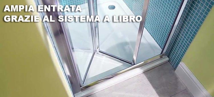 Box doccia it porta doccia mod urban online - Porte chiusura a libro ...
