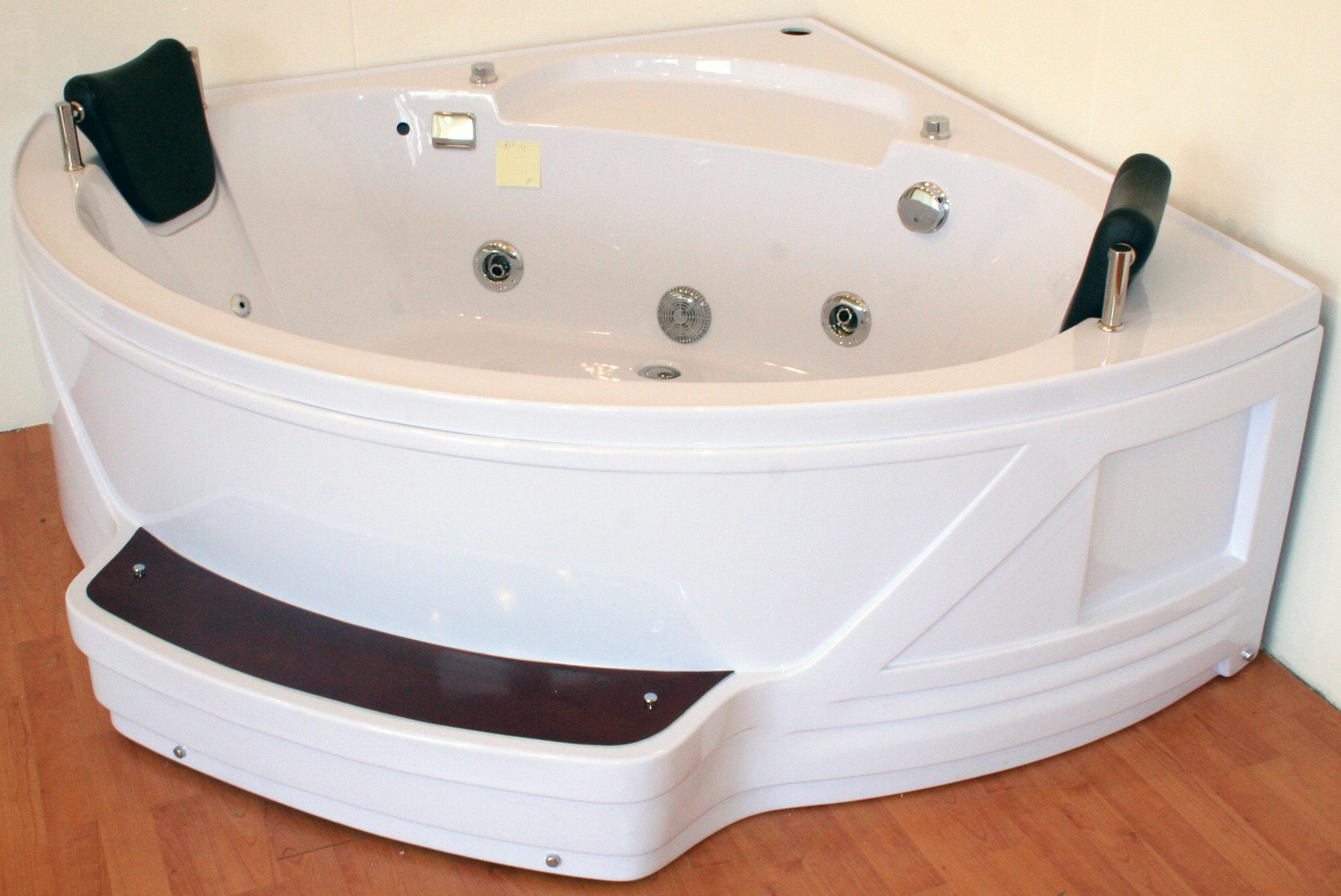 Angolare Per Vasca Da Bagno : Vbchome vasca da bagno cm acrilico set grembiule sifone