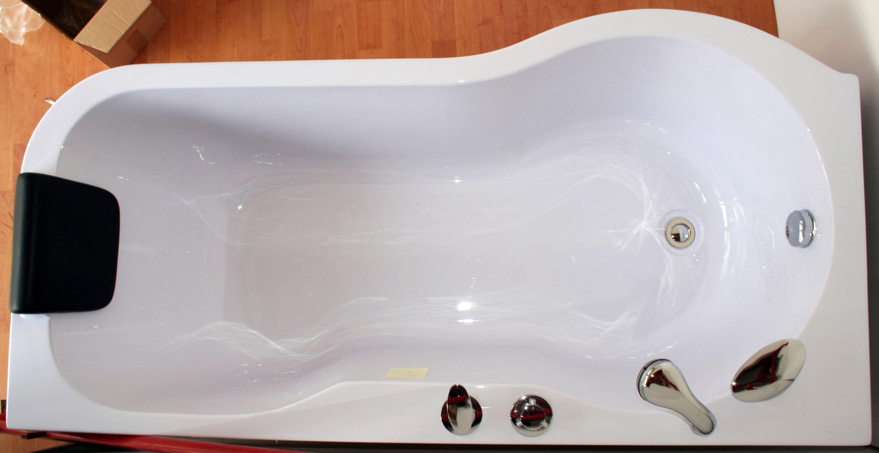 Vasche Da Bagno Angolari Offerte : Cleopatra wht la vasca da bagno ad angolo di aquatica in